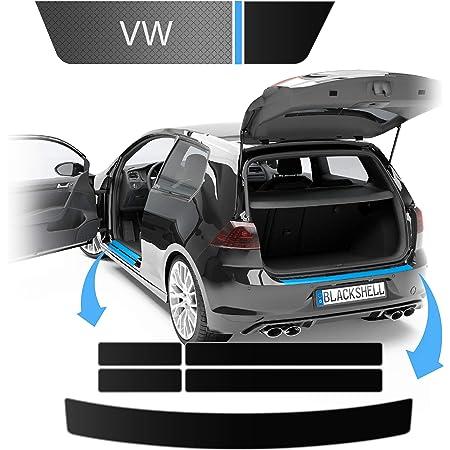 Blackshell Ladekantenschutz Einstiegsleisten Set Inkl Premium Rakel Für Megane 3 Schrägheck 2008 2016 Matt Schwarz Passgenaue Lackschutzfolie Auto Schutzfolie Auto