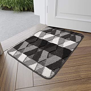 "DEXI Indoor Doormat Front Door Rug, 20""x32"" Absorbent Machine Washable Inside.."