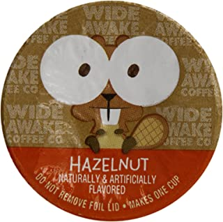 Wide Awake Coffee Hazelnut Cream Single Serve Cup, 12 Count