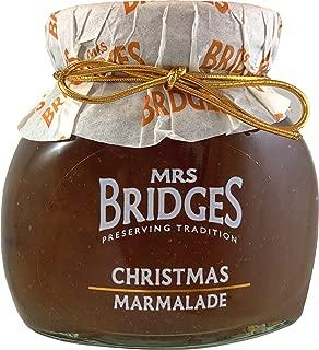 Mrs Bridges Christmas Marmalade, Orange and Cranberry, 8.8 Ounce