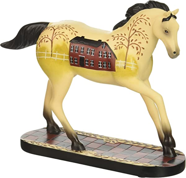 Enesco Trail Of Painted Ponies Happy Trails Simply Home Stone Resin Horse Figurine 4 3