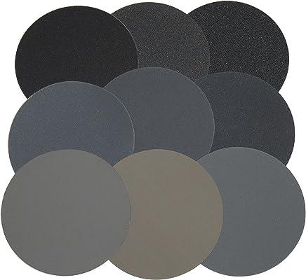 Hook and Loop w//o holes Polishing Disc Assortment Pack 5 MICRO-MESH/® 127mm