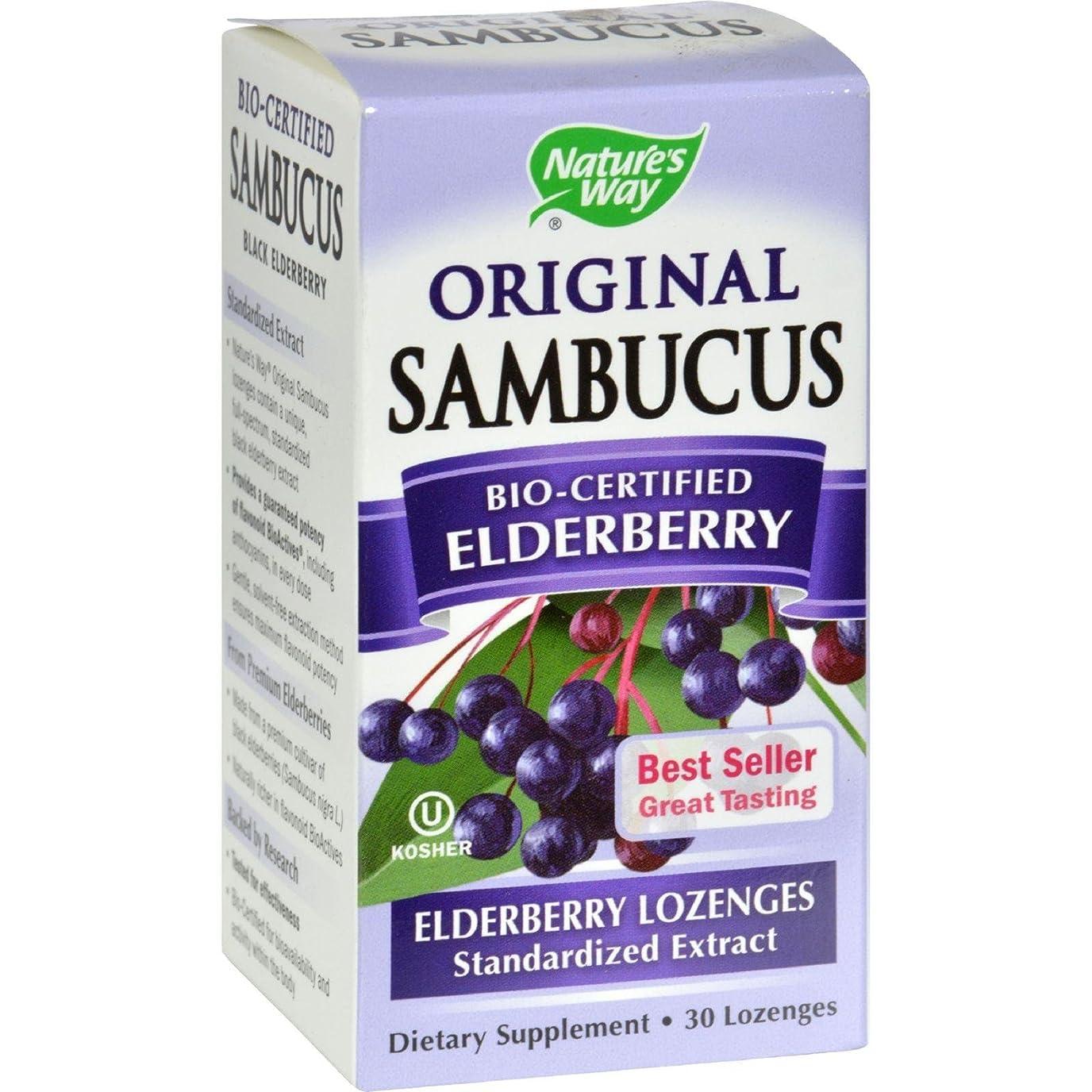 用心する小包害Sambucus Original Lozenge 30