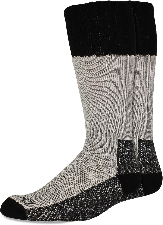 Dickies Men's 2 Pack High Bulk Acrylic Thermal Boot Crew Socks