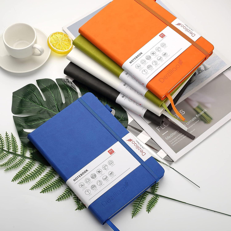 Medium 5.7x8.4 Hardcover Notebook Journal for Work 100Gsm Premium ...