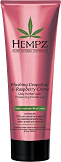 Hempz Blushing Grapefruit & Raspberry Creme Color Preserving Herbal Conditioner, 9.0 Ounce