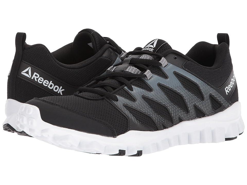 Reebok RealFlex Train 4.0 (Black/Alloy/White) Men
