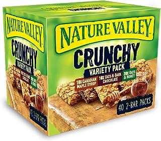 Nature Valley Crunchy Granola barer variation pack 40 barer stort värde paket