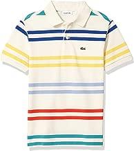 Lacoste Boys' Striped Pique Polo Shirt