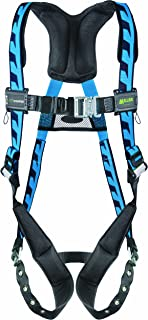 Miller Titan by Honeywell AC-TB/UBL AirCore Full Body Harness, Large/X-Large, Blue