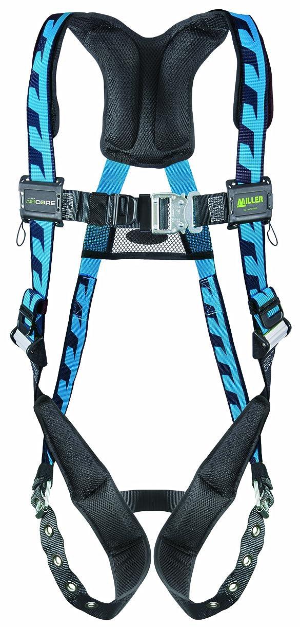 原稿火山の皿Miller Titan by Honeywell AC-QC-D/S/MBL AirCore Full Body Harness, Small/Medium, Blue by Honeywell