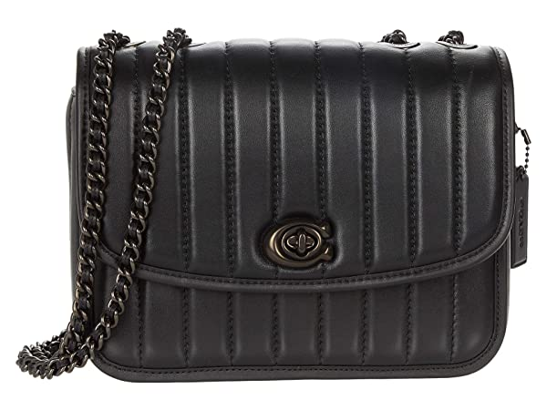 COACH Quilted Leather Madison Shoulder Bag