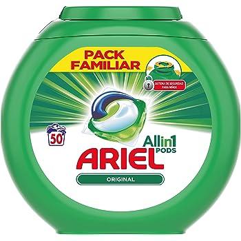 Ariel 3en1 Pods Detergente Familia Paquete - 80 Lavados: Amazon.es ...