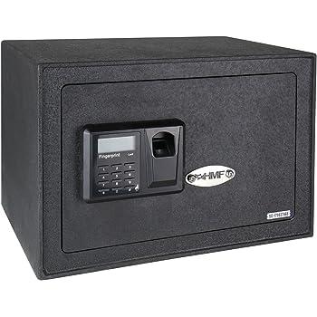 HMF 49122 Caja Fuerte Escaneo de Huellas Dactilares, Cierre Electrónico, Safe, 35 x 25 x 25 cm: Amazon.es: Bricolaje y herramientas