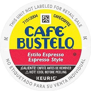 Café Bustelo Espresso Coffee Pod Capsules for Espresso Machines, 96 Count
