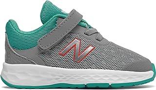 (ニューバランス) New Balance 靴?シューズ キッズランニング Fresh Foam Kaymin Steel with Tidepool スティール タイドプール US 5.5 (13.5cm)