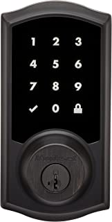 Kwikset Premis Touchscreen Smart Lock, Works with Apple HomeKit, in Venetian Bronze