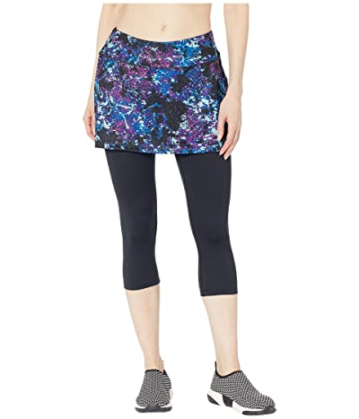 Skirt Sports Lotta Breeze Capri (Odyssey Print/Black) Women