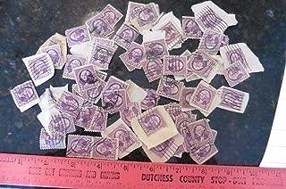 Estate Find Lot of Stamps George Washington 3c purple Vintage USA stamp