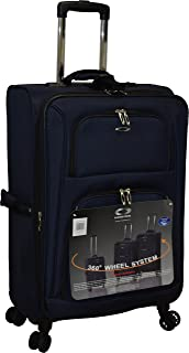 """Kemyer 1050 Plus Series 21"""" Expandable Spinner Carry-On Luggage"""