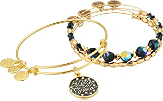 Womens Let It Snow Set of 3 Bracelet
