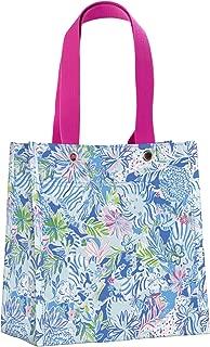 Lilly Pulitzer Reusable Market Shopper Bag, Lion Around