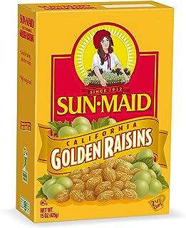 Sun-Maid Golden Raisins, 15 OZ (Pack of 2)