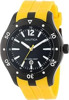 Nautica Unisex N15626G NST 401 Atlantis Date Classic Analog with Enamel Bezel Watch