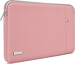 TECOOL Housse Ordinateur Portable, Pochette de Protection Sacoche pour 2016-2019 MacBook Pro 15, 14 Pouces Notebook Lenovo...