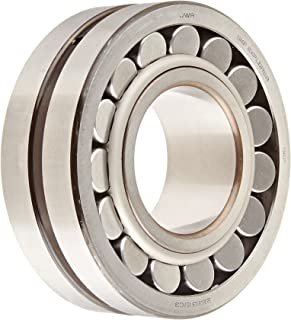10000rpm Maximum Rotational Speed SKF 22209 E Explorer Spherical Roller Bearing 45mm Bore Metric Steel Cage Standard Tolerance 85mm OD 22930lbf Dynamic Load Capacity 23mm Width Normal Clearance 22031lbf Static Load Capacity Straight Bore