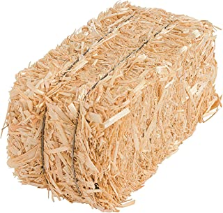 Fun Express Small Hay Bale (Natural Straw - 5 Inch) Craft Supplies