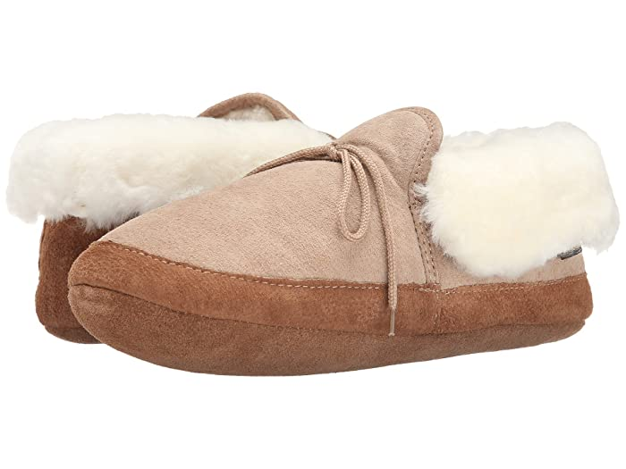 Image of Comfy Chestnut Soft Sole Bootie Slippers for Adults