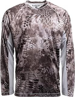Kryptek Aura Camo Shirt - Quick-Dry Fabric for Fishing & Swimming, UPF 30 UV Sun Protection (K-Ore Collection)