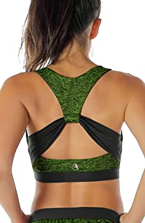 icyzone Workout Sports Bras for Women - Fitness Athletic...