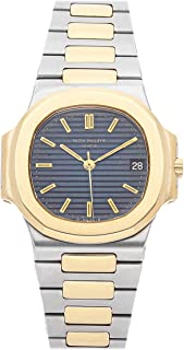 Patek Philippe Nautilus Mechanical (Automatic) Blue Dial Mens Watch 3800/001 (Certified Pre-Owned)