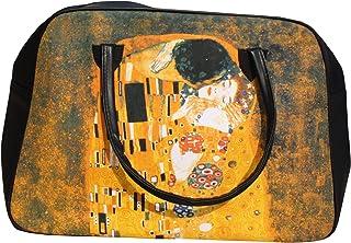 RaanPahMuang Work of Art Travel Bag - Gustav Klimt The KISS