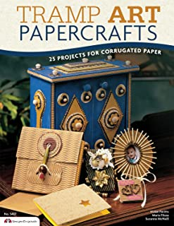 Tramp Art Papercrafts: 25 Projects for Corrugated Paper (Design Originals)