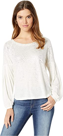 Long Sleeve Sparkle Tee