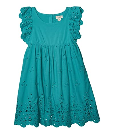 PEEK Michele Dress (Toddler/Little Kids/Big Kids) (Turquoise) Girl