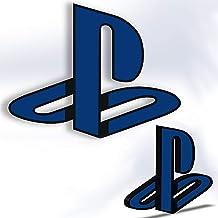 PS Logo Self-adhesive PlayStation PS4 / PS5 Symbol , Sony PlayStation Setup Decoration شعار سوني بلايستيشن زينة غرف