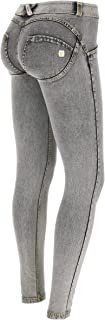 Freddy WR.UP Low Rise Denim Effect Skinny Jeans Women - Butt Lifting, Signature Shaping Pants, Sexy Push Up Pants