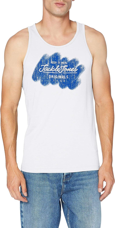 Jack /& Jones Jorpanama Tank Top Camiseta de Tirantes Anchos para Hombre
