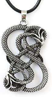loki symbol necklace
