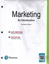 Marketing: An Introduction (14th Edition), Standlone Looseleaf Version