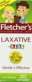 Fletcher's Laxative, For Kids, Root Beer, 3.25-Ounce Bottles (Pack of 3)