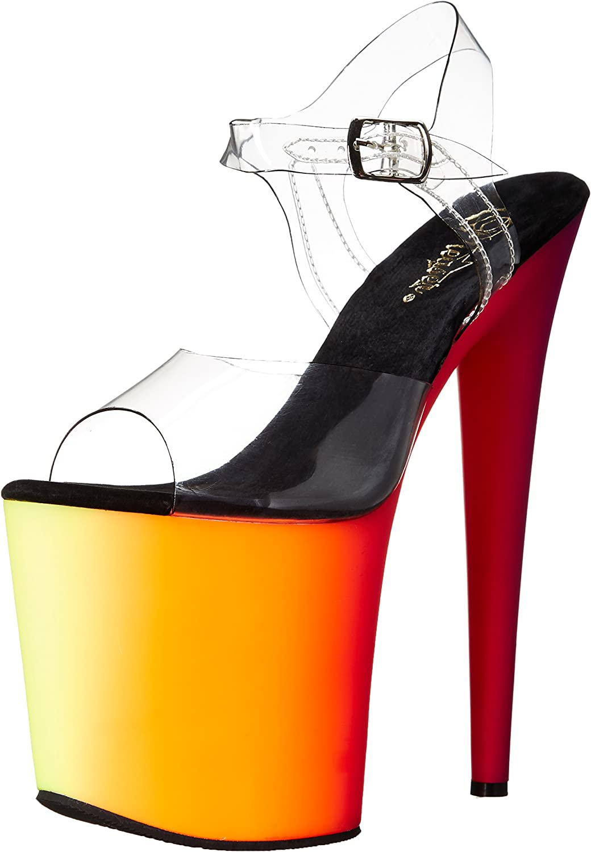 Pleaser Womens Rbow808uv C Nmc Platform Dress Sandal