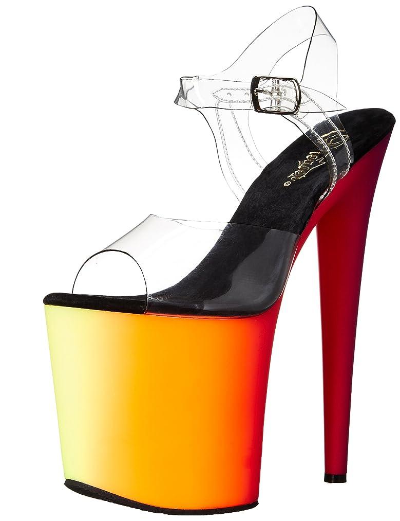 Pleaser Women's RBOW808UV/C/NMC Platform Dress Sandal