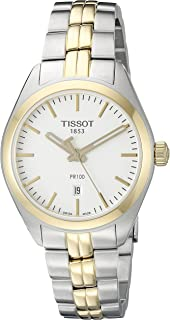 Tissot Women's T1012102203100 Analog Display Quartz Two Tone Watch