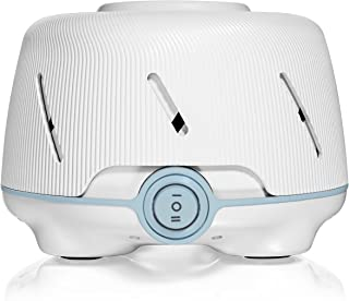 Marpac Dohm (White/Blue)   The Original White Noise Machine   Soothing Natural Sound from a Real Fan   Noise Cancelling   Sleep Therapy, Office Privacy, Travel   For Adults & Baby   101 Night Trial