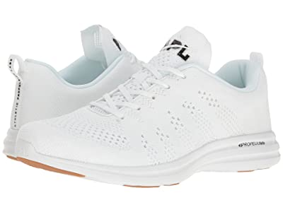Athletic Propulsion Labs (APL) Techloom Pro (White/Black/Gum) Men